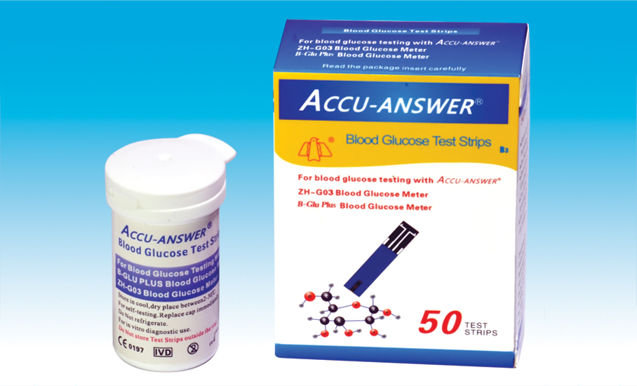 Accu-Answer Test Strip