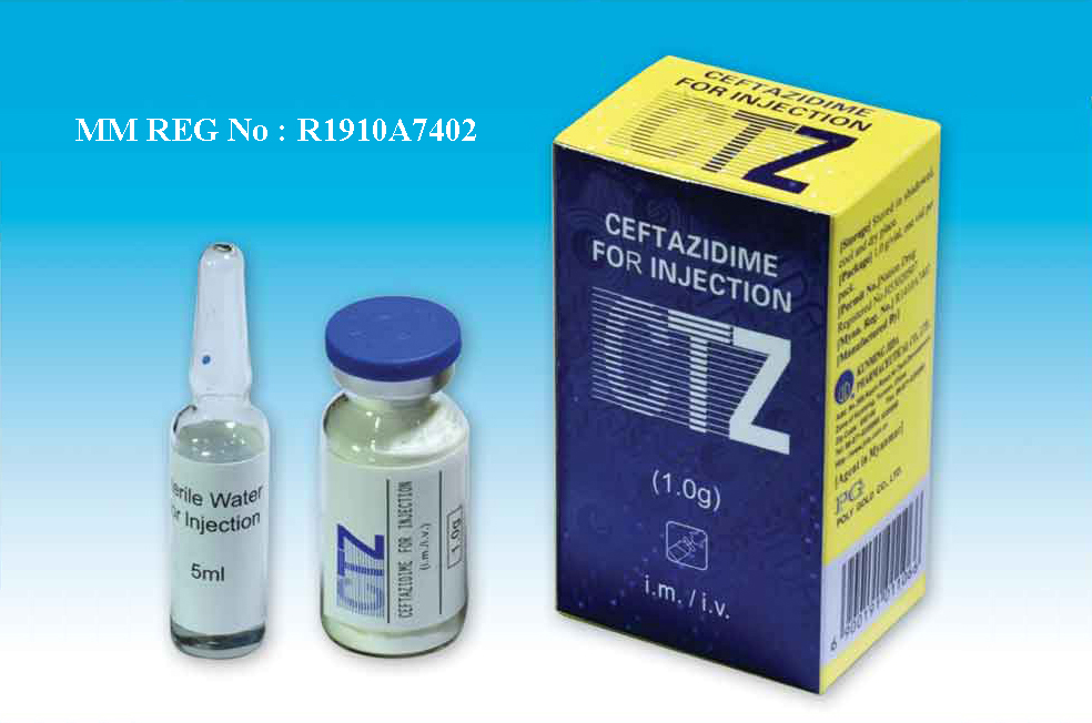 Ceftazidime Sodium for Injection