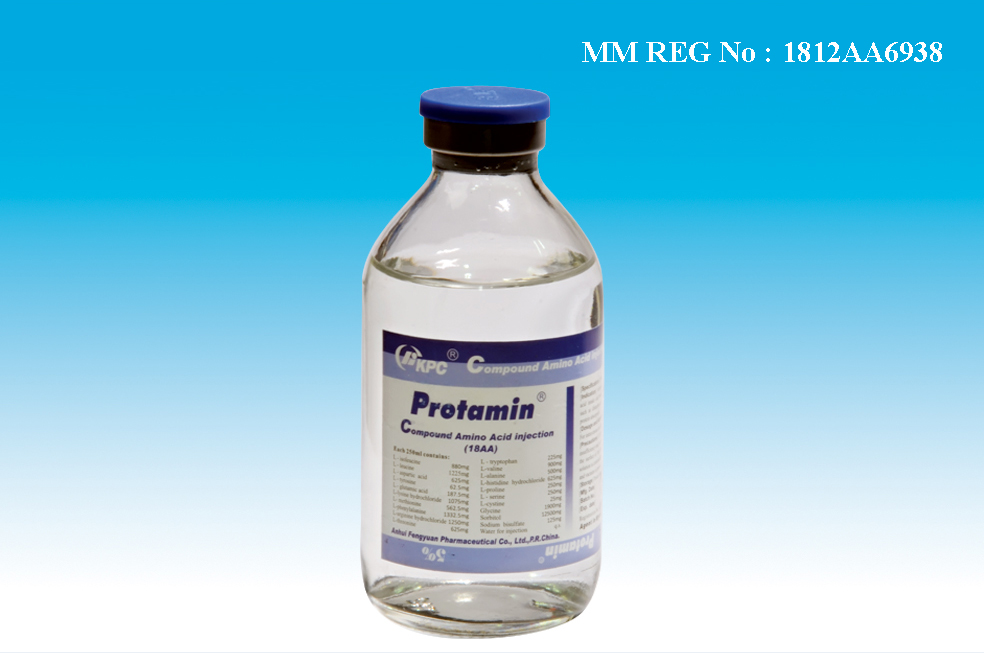 Protamin Compound Amino Acid Injection (18AA)