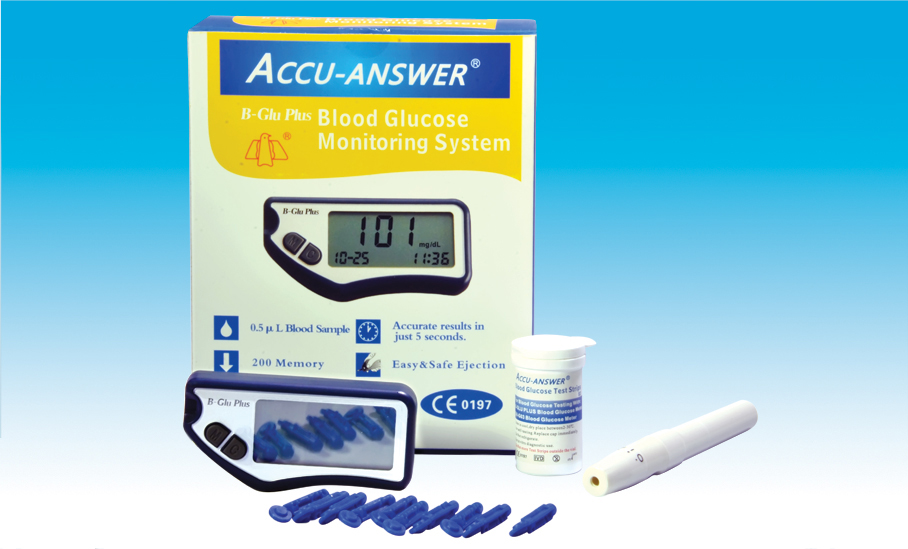 Accu-Answer Glucometer System